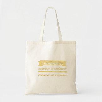 Petit sac unique pour femme inspirante et inspirée