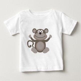 Petit singe mignon t-shirt pour bébé