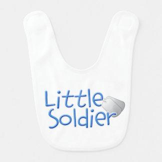Petit soldat bavoir pour bébé