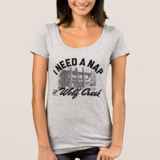 Petit somme de Wolf Creek - prochain cou de niveau T-shirt