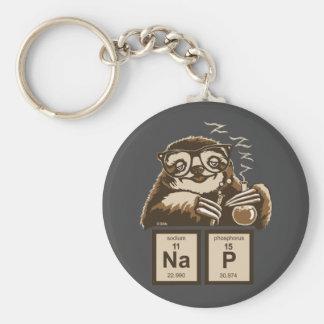 Petit somme découvert par paresse de chimie porte-clés