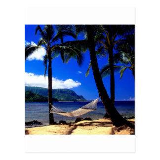 Petit somme tropical Kauai Hawaï d'après-midi d'îl Cartes Postales