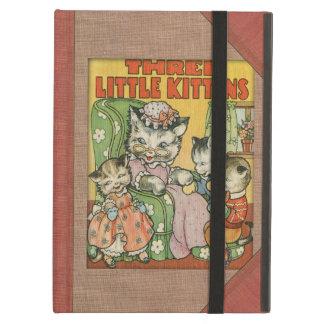 Petit style de couverture de vieux livre de chaton