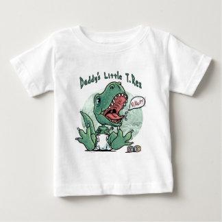 Petit T. Rex du papa par des studios de Mudge T-shirt Pour Bébé