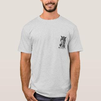 Petit T-shirt BW de logo de LASFS