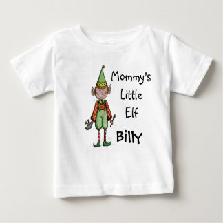 Petit T-shirt de bébé d'Elf de la maman mignonne