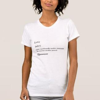 Petit T-shirt de dames avec la définition