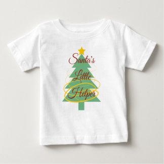 Petit T-shirt de l'aide de Père Noël