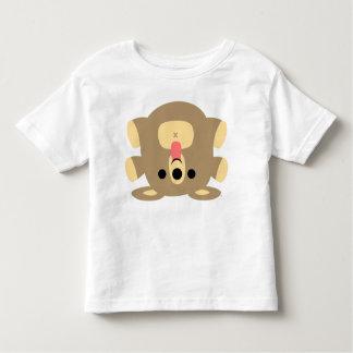 Petit T-shirt effronté d'enfants d'ours de bande