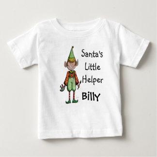 Petit T-shirt mignon de bébé d'Elf de l'aide de