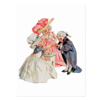 Petit thé de Martha Washington Carte Postale