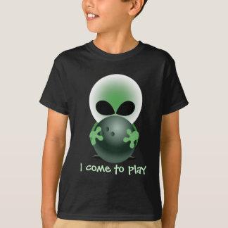 Petit type vert de roulement t-shirt