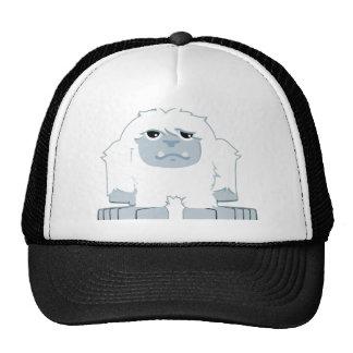 Petit yeti mignon casquettes de camionneur