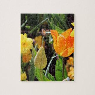 Petite abeille de Falln en vol Puzzle