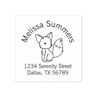 Petite adresse mignonne de Fox