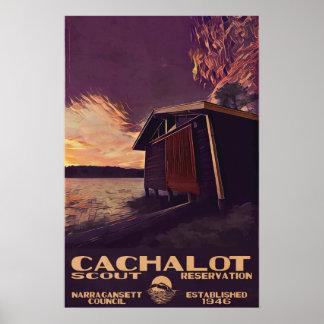 Petite affiche de WPA-Style de Cachalot Poster