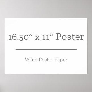 Petite affiche supplémentaire faite sur commande posters
