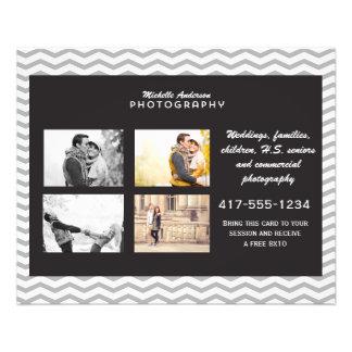 Petite brochure pour des affaires de photographie prospectus