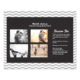 Petite brochure pour des affaires de photographie prospectus personnalisés