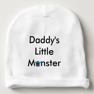 Petite calotte de bébé du monstre du papa bonnet de bébé
