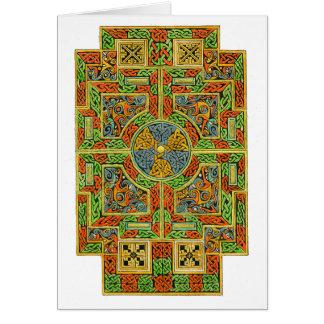 Petite carte de Celtic de croix de Tau