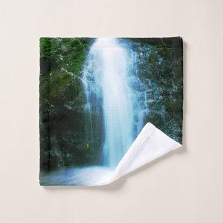 Petite cascade tropicale de forêt tropicale