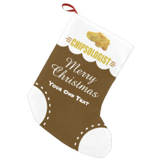 Petite Chaussette De Noël Amants drôles de pommes chips