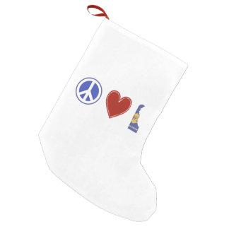 Petite Chaussette De Noël Amour Delaware de paix