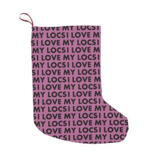 Petite Chaussette De Noël Amour du pourpre I mon coupe-circuit des textes de