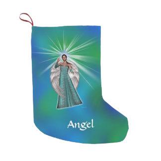 Petite Chaussette De Noël Ange de lumière