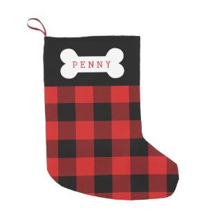 Petite Chaussette De Noël Bas de chien de contrôle de Buffalo