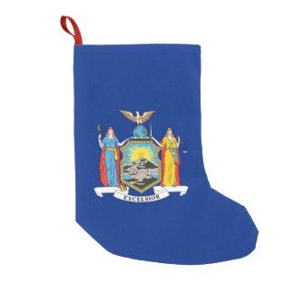 Petite Chaussette De Noël Bas de Noël avec le drapeau de New York