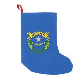 Petite Chaussette De Noël Bas de Noël avec le drapeau du Nevada