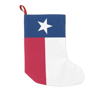 Petite Chaussette De Noël Bas de Noël avec le drapeau du Texas