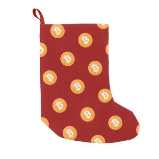 Petite Chaussette De Noël Bas de Noël de Bitcoin