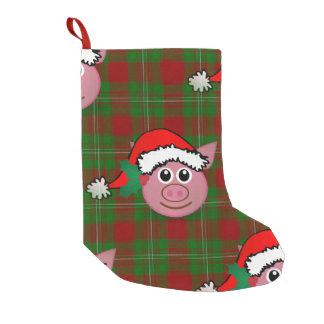 Petite Chaussette De Noël bas de Noël de porc de Noël