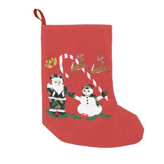 Petite Chaussette De Noël Bas de Noël, vacances, Noël de Camo
