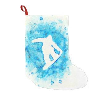 Petite Chaussette De Noël Bas de snowboarding