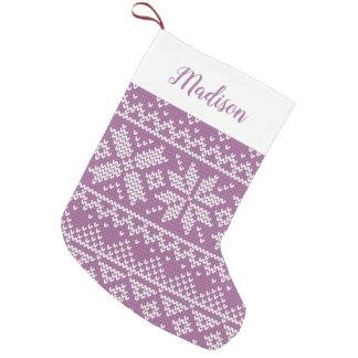 Petite Chaussette De Noël Bas de vacances personnalisé par | de temps de
