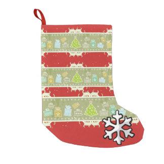 Petite Chaussette De Noël Beautiful Christmas sock Brushed Polyester