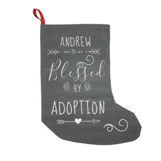 Petite Chaussette De Noël Béni par adoption - l'accueil, adoptent le cadeau
