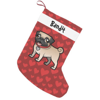 Petite Chaussette De Noël Cartoonize mon animal familier