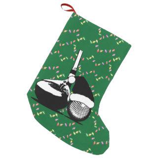 Petite Chaussette De Noël Club et boule de golf de Noël