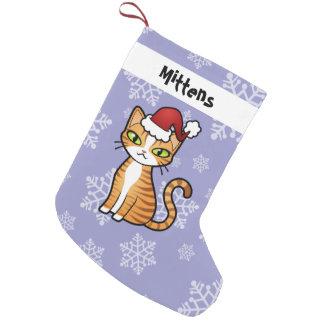Petite Chaussette De Noël Concevez votre propre chat de bande dessinée