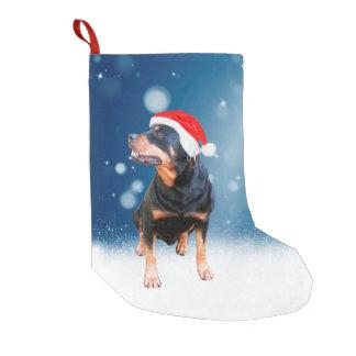 Petite Chaussette De Noël Étoiles mignonnes de neige de casquette de Père