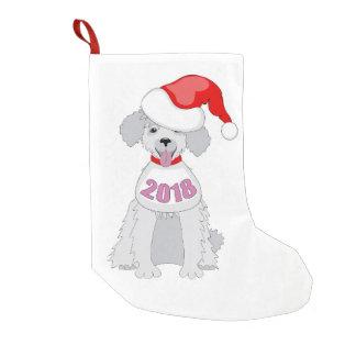 Petite Chaussette De Noël funny sainte puppy