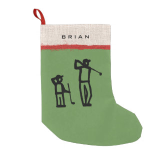 Petite Chaussette De Noël Jour parfait de golf