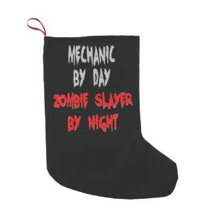 Petite Chaussette De Noël Mécanicien de tueur de zombi