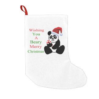 Petite Chaussette De Noël Noël de Beary de pandas Joyeux