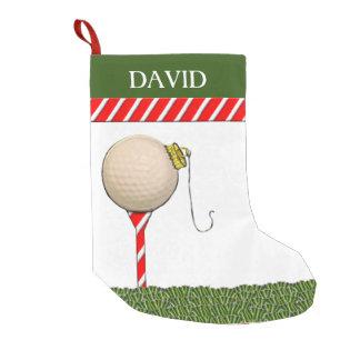 Petite Chaussette De Noël Noël de golf